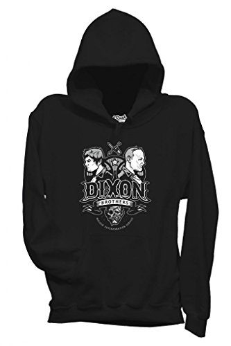 MUSH Sweatshirt Walking Dead Dixon Brothers - Film by Dress Your Style - Homme-L-Noir