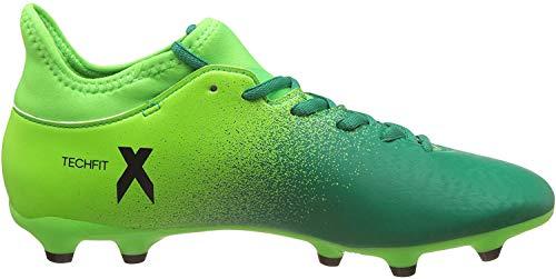 adidas X 16.3FG Herren Fußballschuh, grün–(Versol/Negbas/Vol) 422/3
