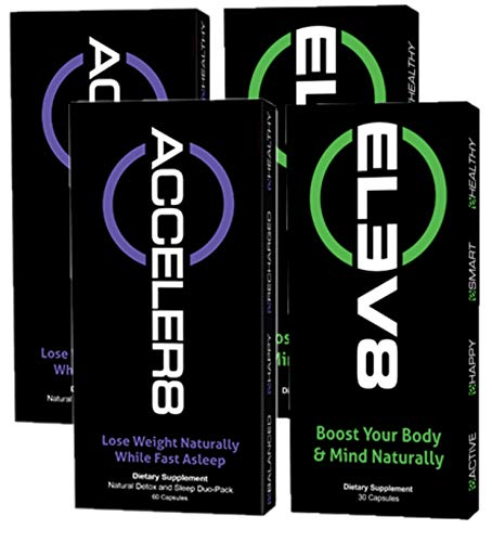 BEpic - ELEV8 ACCELER8 Combo Pack - Boost Your Body (60 Day Supply - 2 Pack ELEV8, 2 Pack ACCELER8)