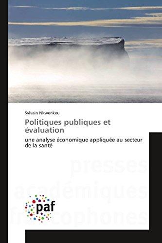 Politiques Publiques Et Evaluation