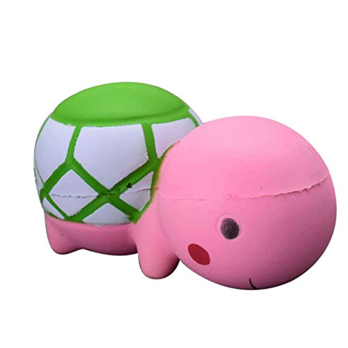 Finance Plan Soft Cartoon Turtle Slow Rising Stress Reliever Stress Toy Squeeze Stress Relief Toys Squeeze Soft Toys for Kids Children Adults