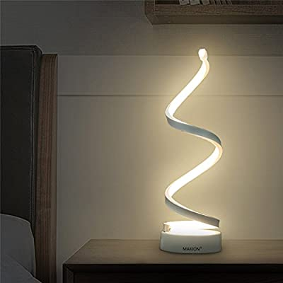 Makion Spiral Table Lamp