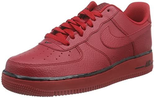 Nike Air Force 1 Scarpe da ginnastica, Uomo, Rosso (Gym Red/Gym ...