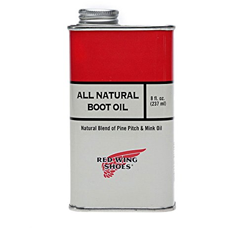 Red Wing Men's Boot Oil + Cloth Set One Size Colourless