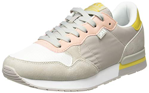 XTI 42402, Zapatillas Mujer, Gris, 38 EU