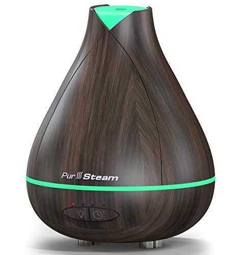 PurSteam 350ml Essential Oil Diffuser, Noise Reduce Design