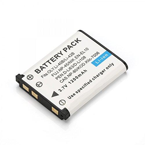 Rusty Bob - NP-45/LI-42B Akku / Batterie FinePix-J10,J100,J110W,J120,J150W,Z10FD,Z20FD,Z100FD,Z200FD,Z30,Z33,Z33WP CoolPix S200,S700,S3000 - Akku