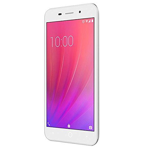"ZTE BLADE A602, SMARTPHONE LIBRE 4G, Android N, pantalla de 5.5"" HD 1280 x 720, trasera 13MP y frontal 5MP, 1GB de RAM, 8 GB de ROM, color plata"
