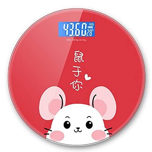 Básculas eléctricas de Alta precisión Báscula de Peso Corporal para Grasa -...