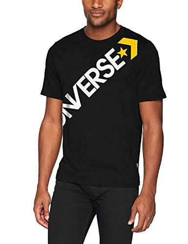 Converse Cross Body tee - Camiseta, Hombre, Negro(Black)