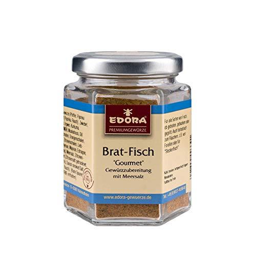 Premium Qualität Gewürz EDORA Schraubglas Brat-Fisch