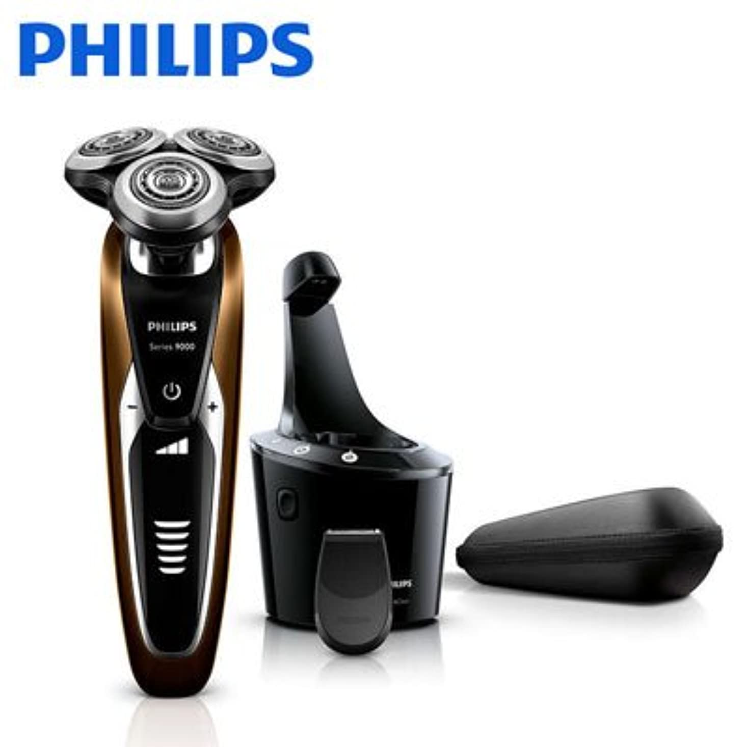 カートリッジ地中海素敵なフィリップス メンズシェーバーPHILIPS 9000シリーズ ウェット&ドライ S9512/26