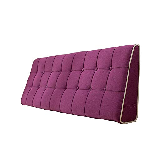 Best Price LIANGLIANG-kaodian Headboard Cushion Home Bedroom Bed Backrest Cushion Read Triangle Pill...