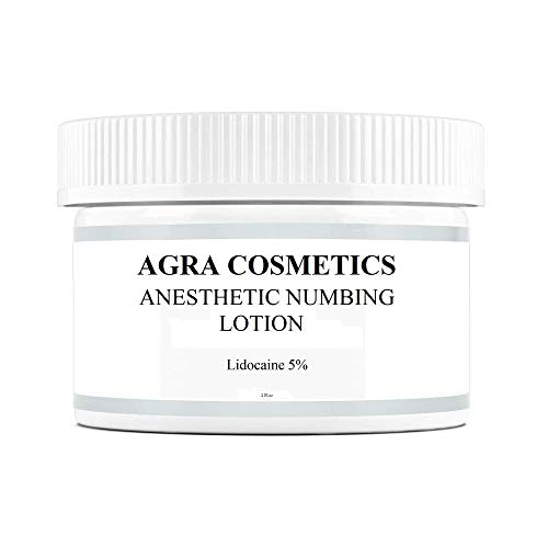 Price comparison product image AGRA COSMETICS,  5% Lidocaine,  for Deeper Penetration,  Topical Numbing Cream,  Local and Anorectal Discomfort,  2 fl.oz