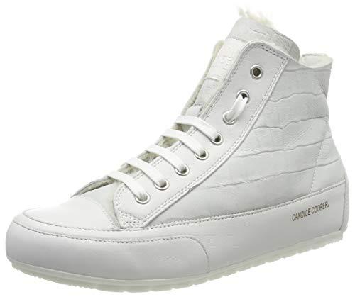 Candice Cooper Damen Plus Mont Derbys, Weiß (White 000), 43 EU