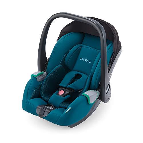 RECARO Kids, Babyschale Avan, i-Size 40-83 cm, Babyschale 0-13 kg, Kompatibel mit der Avan/Kio Base (i-Size), Verwendung mit Kinderwagen, Einfache Installation, Hohe Sicherheit, Select Teal Green