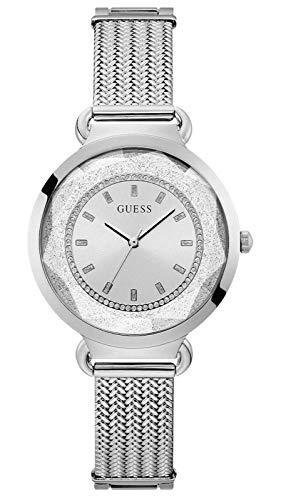 Guess Tessa Women's Stainless Steel Mesh Bracelet Watch U1207L1