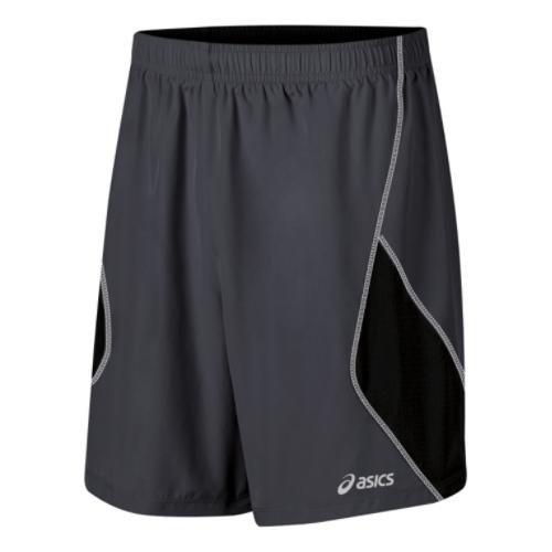 ASICS Mens Lite Show Short 7 Inch SteelBlack Small