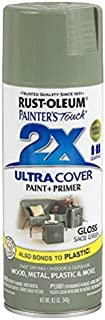 Rust-Oleum 249094 Painter's Touch 2X Ultra Cover, 12-Ounce, Sage Green