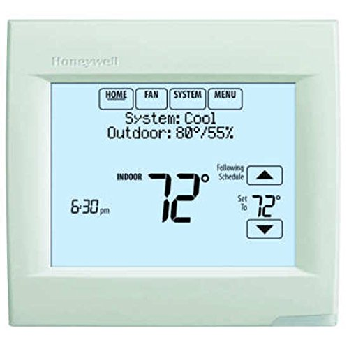 Honeywell TH8110R1008 Vision Pro 8000 Touch Screen Single Stage Thermostat with Red Link Technology