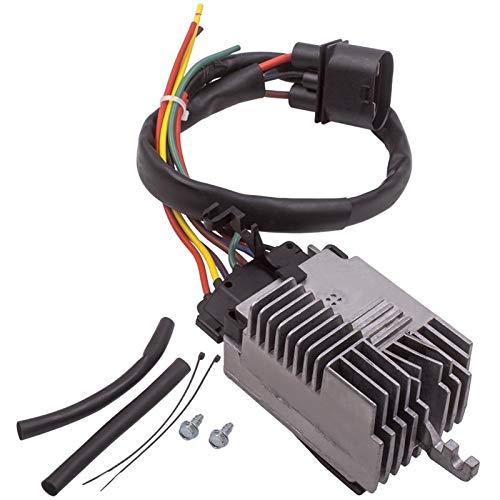 SSXPNJALQ Motor de refrigeración del radiador Unidad de Control del Ventilador Módulo for Audi A6 Quattro 2002-2004 V6-3.0L 2002 2003 2004 2005 2006 2007 2008 2009