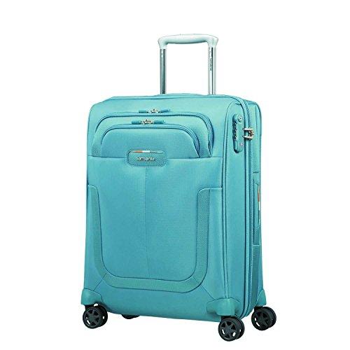 Samsonite Duosphere - Spinner 55/20 Erweiterbar Koffer, 55 cm, 40.5 L, Niagara Blau