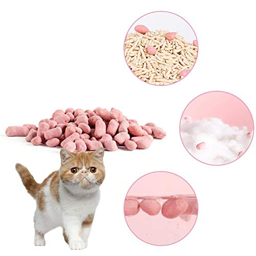 biteatey - Desodorizador de mascotas para gatos, desodorante en polvo, perlas, para eliminar olores de mascotas y perros