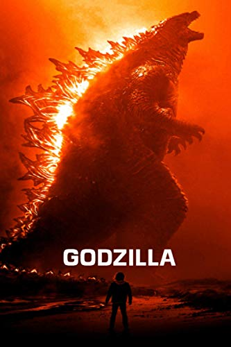 GODZILLA: Notebook / journal Blank Lined Ruled 6x9 120 Pages