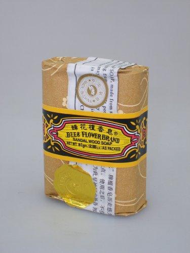 BEE & FLOWER BRAND Original - Jabón chino ~ sándalo aroma 81 g