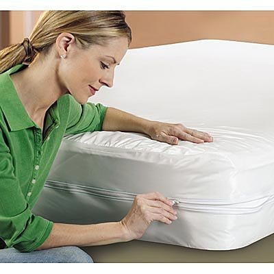 """Eco Living Friendly Evolon Allergy Mattress Protector 