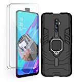 HAOYE Case for OPPO Reno 2Z and 2 Screen Protector, 360
