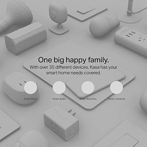 Kasa Smart Plug HS103P2, Wi-Fi Outlet works with Alexa, Echo and Google Home &IFTTT, No Hub Required, Remote Control, 15 Amp, UL Certified, 2-Pack
