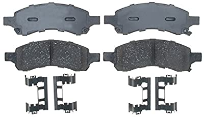 ACDelco Gold 17D1169ACH Ceramic Front Disc Brake Pad Set