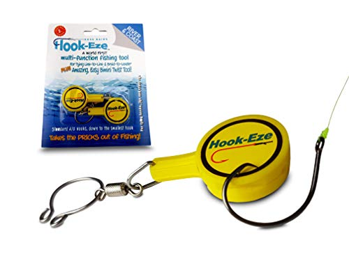 HOOK-EZE Fishing Gear Knot Tying...