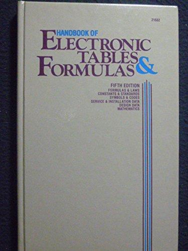 Handbook of Electronic Tables & Formulas