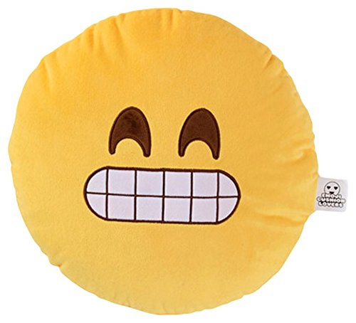 Love Bomb Coussins 0008 Cheesy Sourire Coussin Coussin