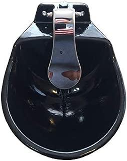 rabbitnipples.com Large Push Paddle Automatic Stock Waterer Made of Cast Iron