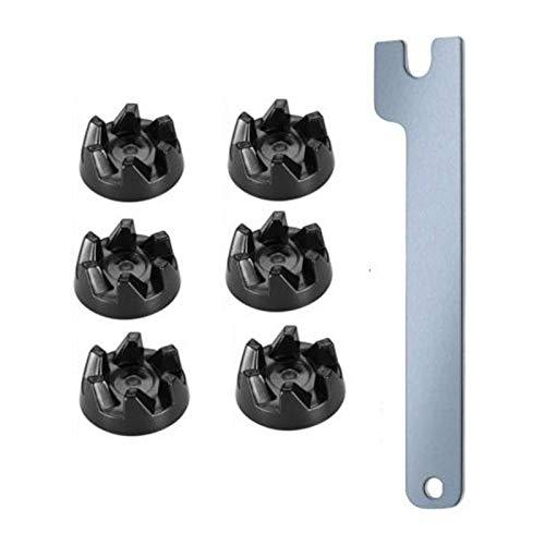 Heritan 7 piezas 9704230 Blender Drive acoplamiento pieza de repuesto para licuadoras reemplaza WP9704230VP WP970423