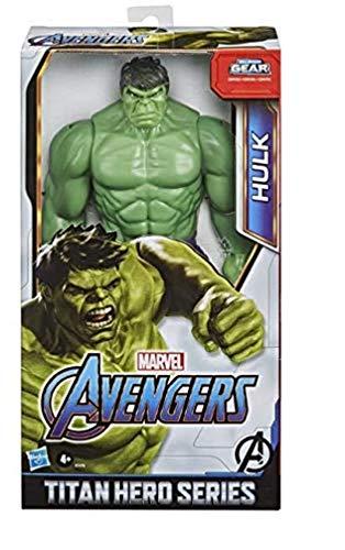Hasbro Marvel Avengers - Titan Hero Series Blast Gear, Action figure di Hulk (classe Deluxe), di 30 cm, per bambini dai 4 anni in su