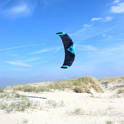 Wolkenstürmer Paraflex Quad 3.9, 4-Leiner Action Lenkmatte - Hochwertiger Kite mit Handels - optional mit Bar