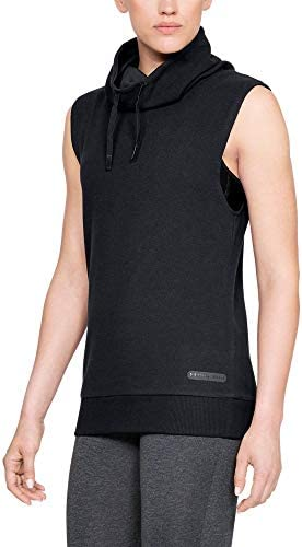 Under Armour Unstoppable Camiseta Negra Sin Manga para Mujer