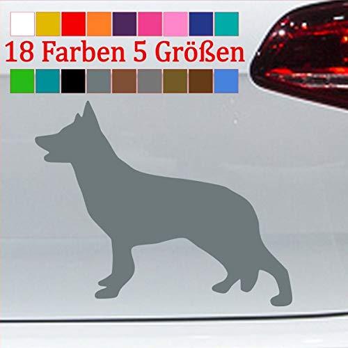 Pegatina genérica de Husky, Silueta de Perro, Contorno de Siberiano, 18 Colores,...