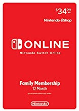 Nintendo Switch Online Family Membership 12 Month - Nintendo Switch [Digital Code]