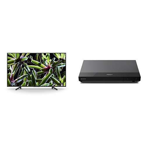 Sony KD-49XG70, Smart TV LED da 49 pollici 4K HDR Ultra HD, Nero + UBP-X500B Lettore Blu-Ray Disc 4K Ultra HD