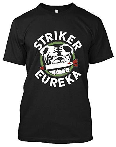 Distressed Striker Eureka Logo T Shirt, Long Tee, Tank Tops, Hoodie, Sweatshirt for Men Women