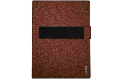 Hülle für Medion Lifetab S10346 (MD 98992) Cover Hülle Bumper | in Braun Leder | Testsieger