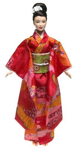 輸入バービー人形ワールドモデルレア多数 Barbie Princess of Japan Dolls of the World [並行輸入品]