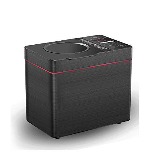 HLWAWA Pan Digital Fabricante y Fruta Semilla dispensador de Funciones de la máquina con el Temporizador de retardo, Mantener Caliente