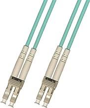 250 Meter 10Gb OM3 Multimode Duplex Fiber Optic Cable (50/125) - LC to LC - Aqua