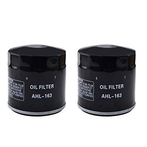 AHL Filtro de aceite negro para K1200LT 1200 1998-2003 / K1200LT SE 1200 2002 2005